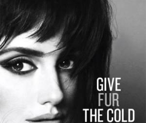 Penélope Cruz nue pour la PETA dans une campagne sexy