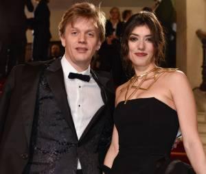 Alex Lutz et Vanessa Guide sur le tapis rouge des César 2015 au théâtre du Châtelet à Paris, le 20 février 2015
