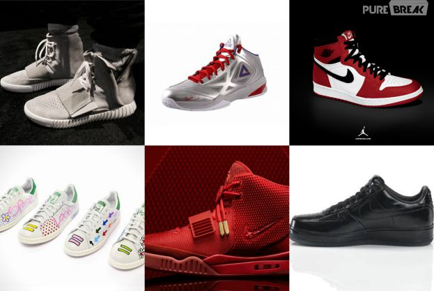 Yeezy by Kanye West, Stan Smith by Pharrell Williams, Michael Jordan, Jay Z et Tony Parker : les baskets de stars