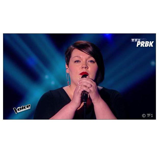 Mathilde est candidate de l'équipe Zazie dans The Voice 4