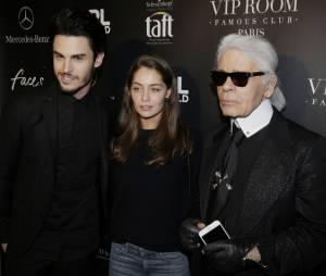 """Baptiste Giabiconi : tapis rouge de stars pour le lancement du site """"Giabiconi Style"""""""