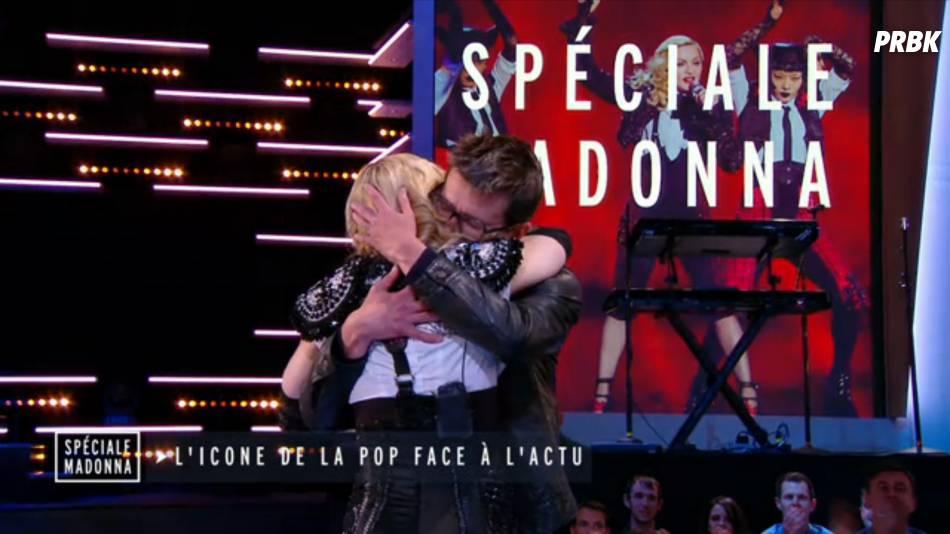 Madonna en larmes et émue face à Luz dans le Grand Journal