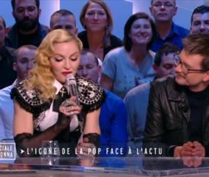 Madonna en larmes remercie Luz dans le Grand Journal