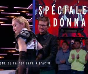 Madonna en larmes et émue dans le Grand Journal face à Luz sur Canal+