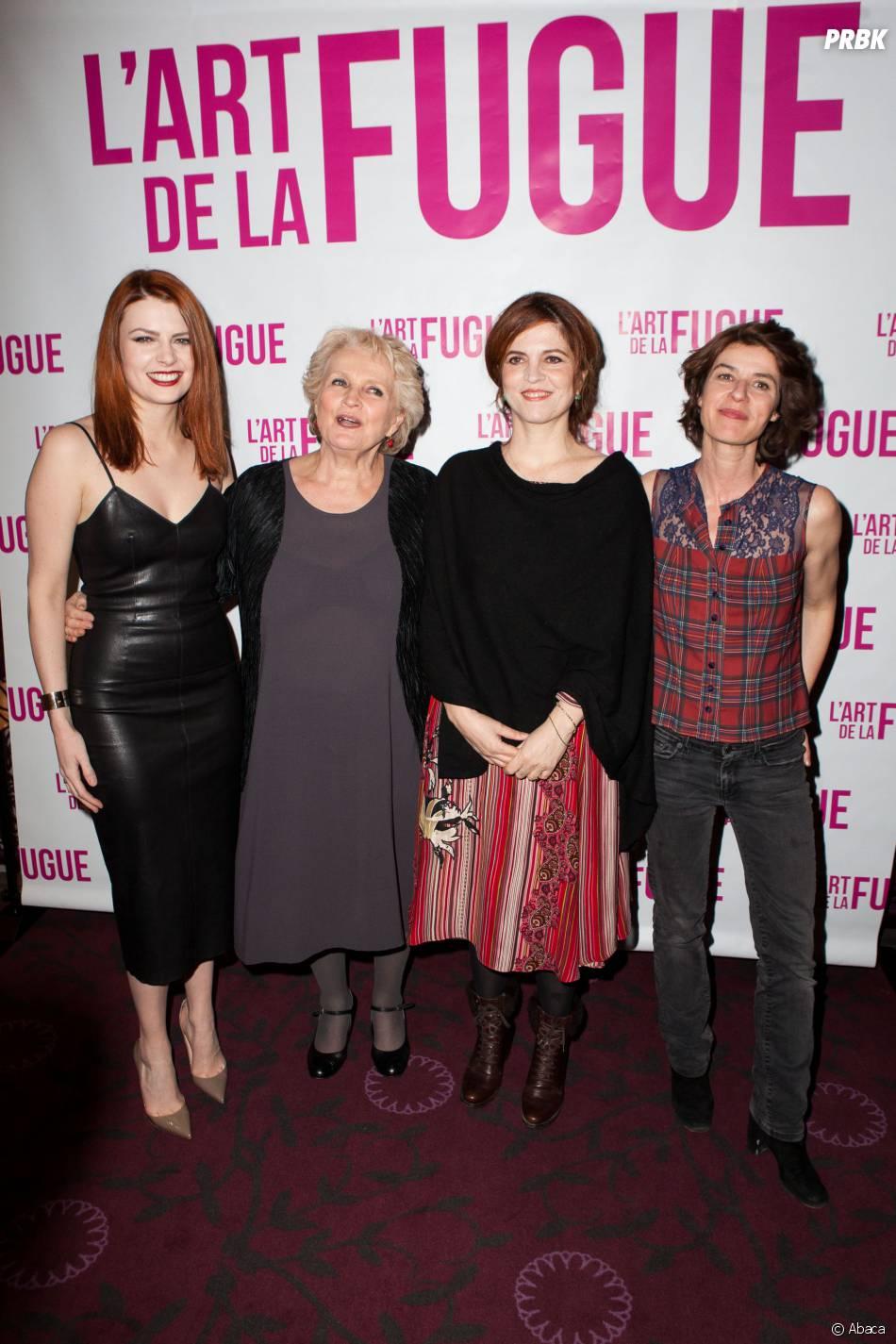L'art de la fugue : une partie de l'équipe du film à l'avant-première ce mardi 3 mars à Paris