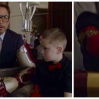 Robert Downey Jr., vraiment trop cool : quand Iron Man offre un bras bionique à un enfant handicapé