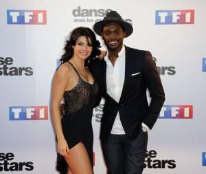 Candice Pascal et Corneille lors de la présentation des couples de Danse avec les Star s5