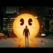 Pixels : Adam Sandler chasse Pac-Man et Donkey Kong dans une bande-annonce délirante