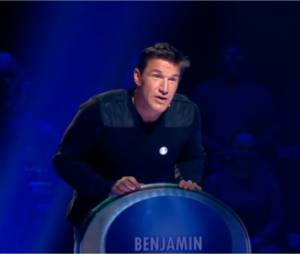 Benjamin Castaldi, mauvais joueur dans Le Maillon Faible, le 19 mars 2015 sur D8