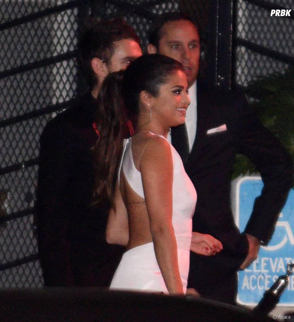 Selena Gomez et Zedd lors d'une soirée en marge des Golden Globes 2015, le 11 janvier 2015 à Los Angeles