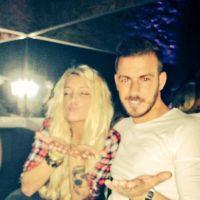 Aurélie Dotremont et Julien Bert en amoureux à Marrakech