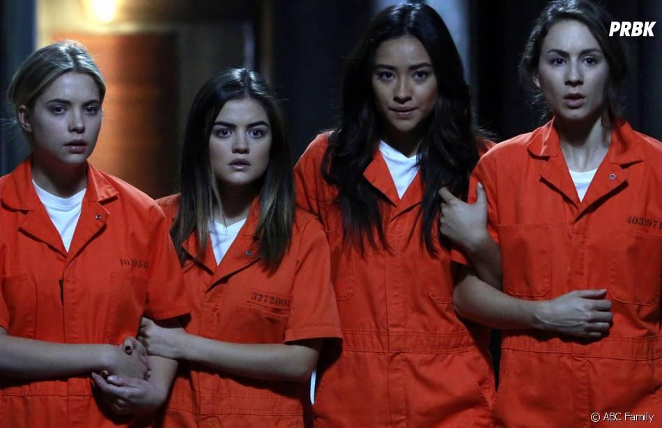 Pretty Little Liars saison 5 : les filles encore retenues