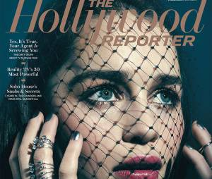 Emilia Clarke en couverture de The Hollywood Reporter en mars 2015
