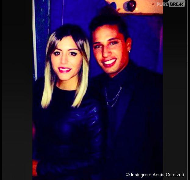 Anaïs Camizuli et Eddy : photo des deux amis postée le 29 mars 2015 sur Instagram