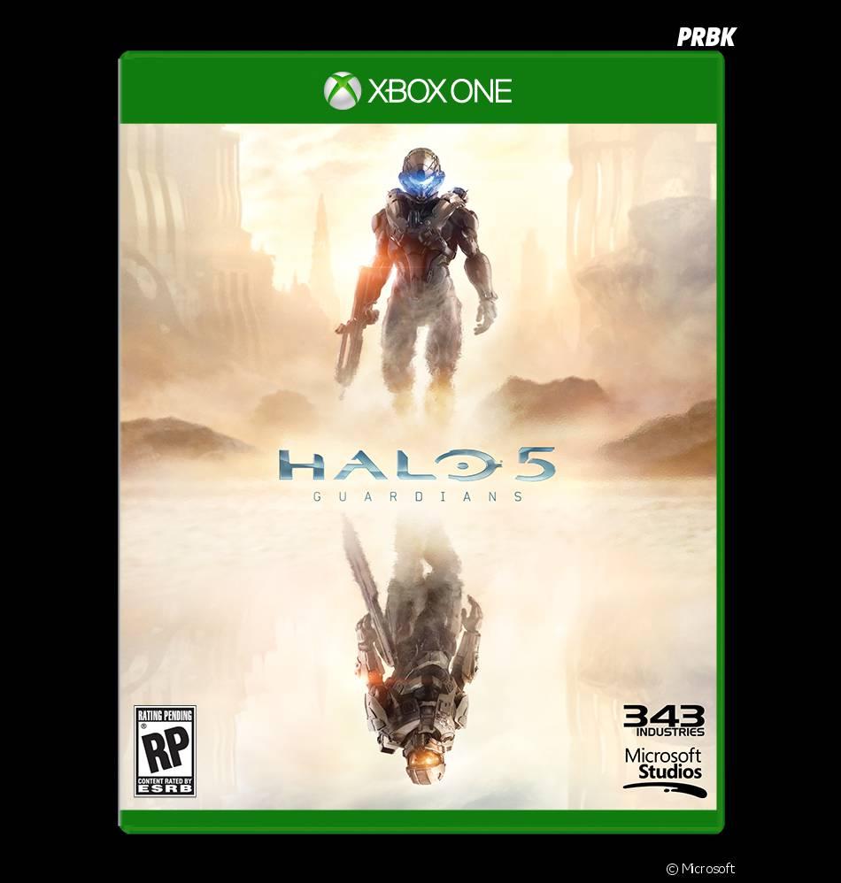 Halo 5 Guardians : la jaquette du jeu sur Xbox One