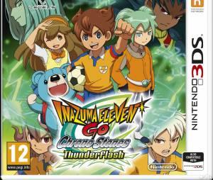 Inazuma Eleven Go Chrono Stone Tonnerre / Brasier est disponible sur 3DS depuis le 27 mars 2015.