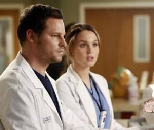 Justin Chambers et Camilla Luddington dans Grey's Anatomy