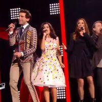 Jenifer glamour avec sa robe fleurie (et hors de prix) dans The Voice 4