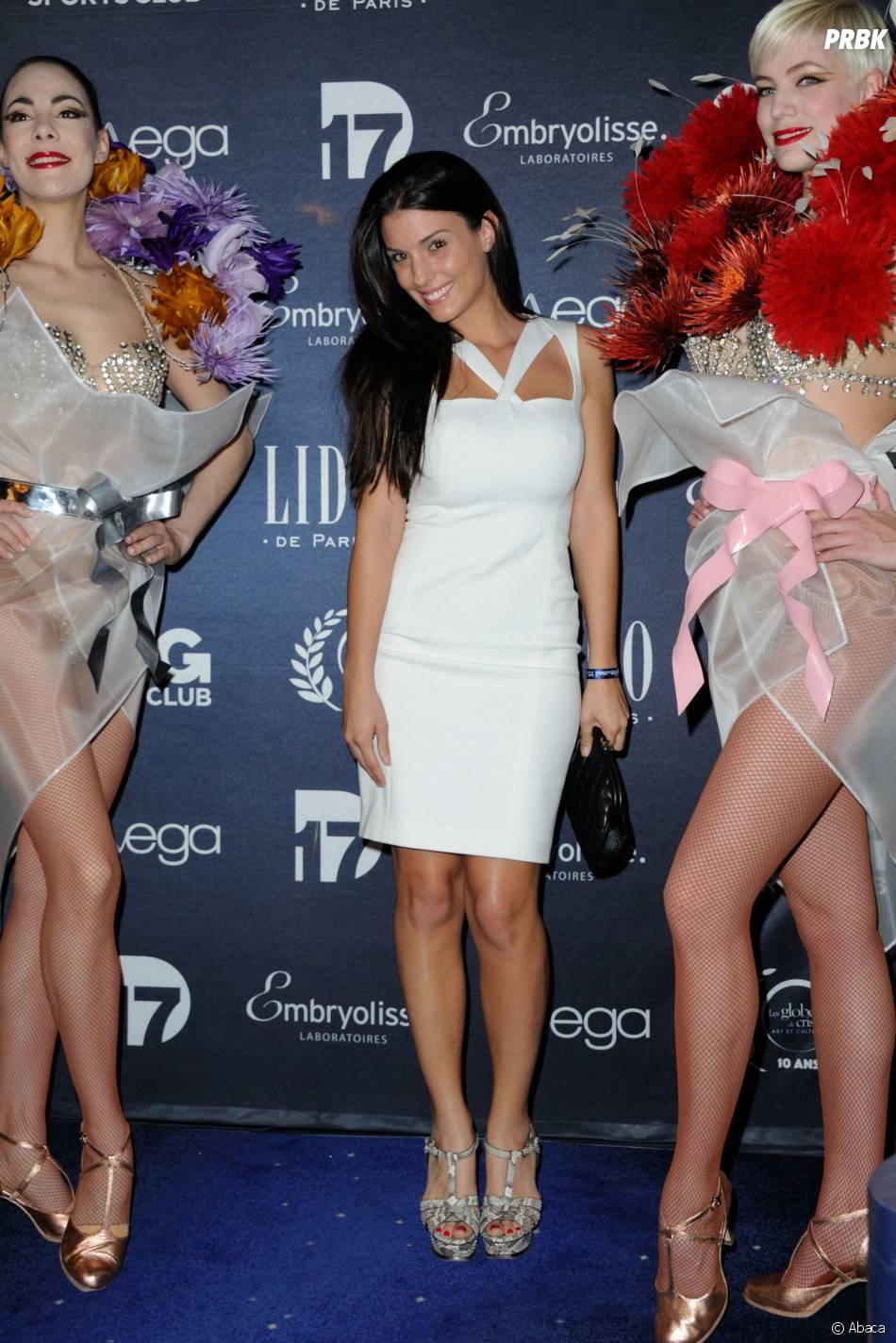 Globes de Cristal : Ludivine Sagna à la 10ème cérémonie le lundi 13 avril 2015 au Lido de Paris