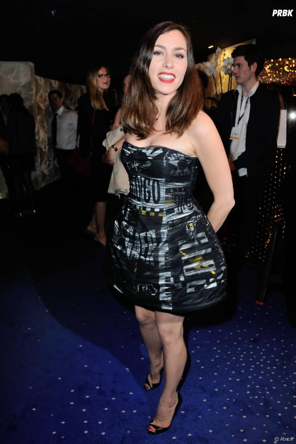Globes de Cristal : Olivia Ruiz à la 10ème cérémonie le lundi 13 avril 2015 au Lido de Paris