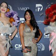 Ayem Nour enflamme les Globes de Cristal : robe moulante et maxi décolleté sexy sur le tapis rouge