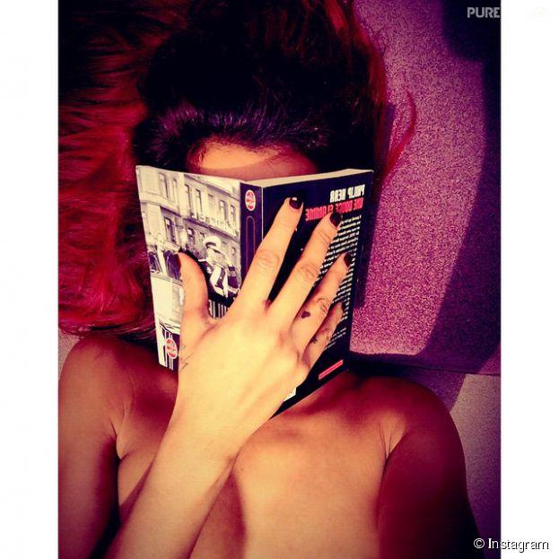 Shy'm topless sur Instagram, le 16 avril 2015