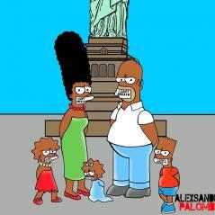 Les Simpson deviennent noirs pour dénoncer le racisme des policiers aux Etats-Unis