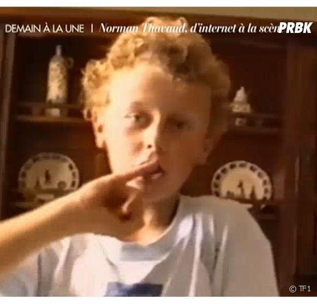 Norman Thavaud à 8 ans