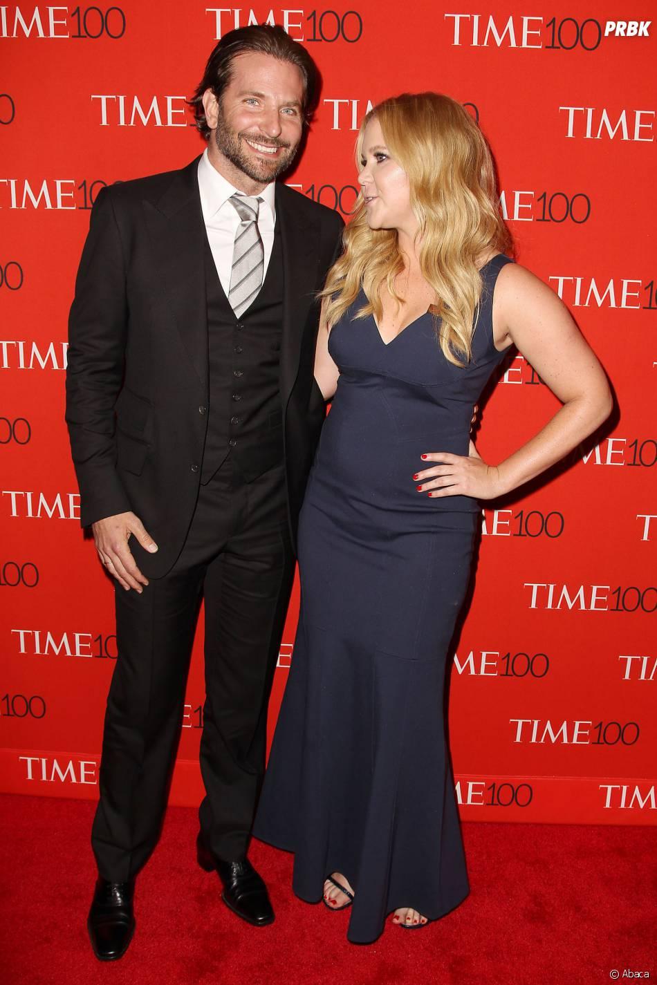 Bradley Cooper et Amy Schumer sur le tapis rouge de la soirée du Time Magazine en l'honneur du top 100 des personnalités les plus influentes du monde, le 21 avril 2015 à New-York