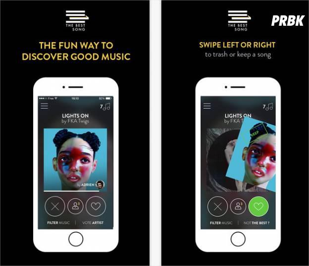 The Best Song : la nouvelle appli de musique fun sur iPhone, iPad et Android