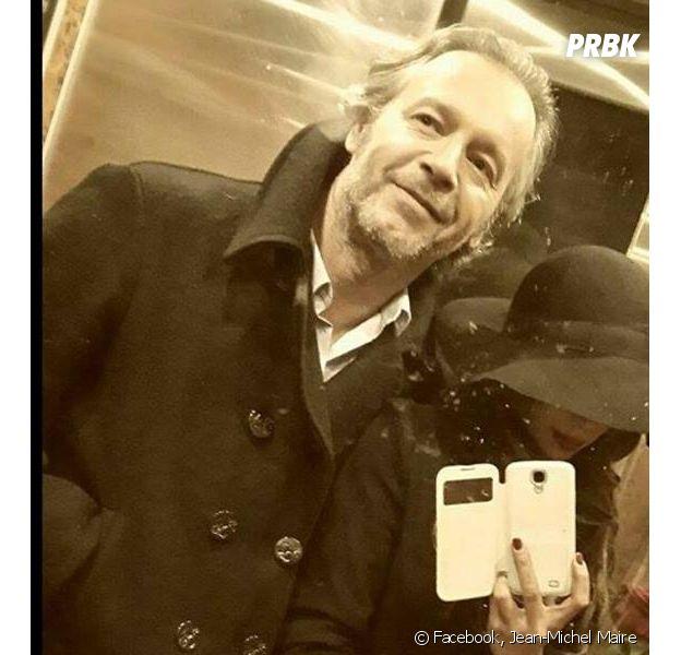 Jean-Michel Maire : selfie avec sa petite-amie Farah sur Facebook, en février 2015