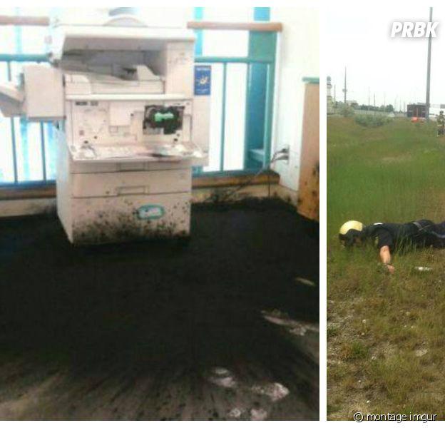 Montage d'images imgur de gens qui ont du passer une très mauvaise journée