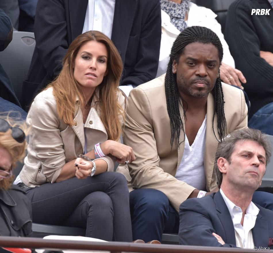 Anthony Kavanagh lors du match des huitièmes de finale de Jo-Wilfried Tsonga à Roland Garros le 31 mai 2015