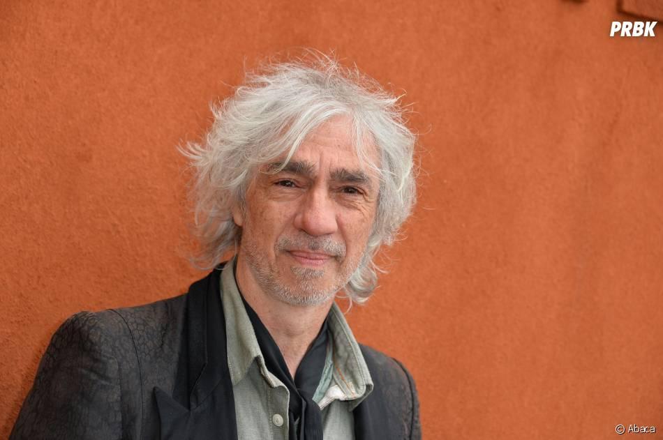 Louis Bertignac au Village de Roland Garros, le 1er juin 2015