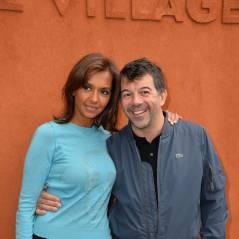Karine Le Marchand et Stéphane Plaza complices à Roland Garros 2015