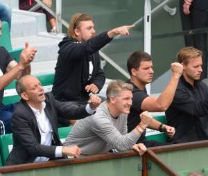 Ana Ivanovic : son petit-amiBastian Schweinsteiger la soutient pendant Roland Garros 2015