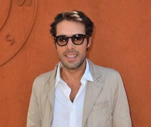Nicolas Bedos à Roland Garros le 6 juin 2015