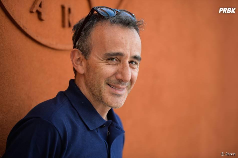 Elie Semoun à Roland Garros le 7 juin 2015