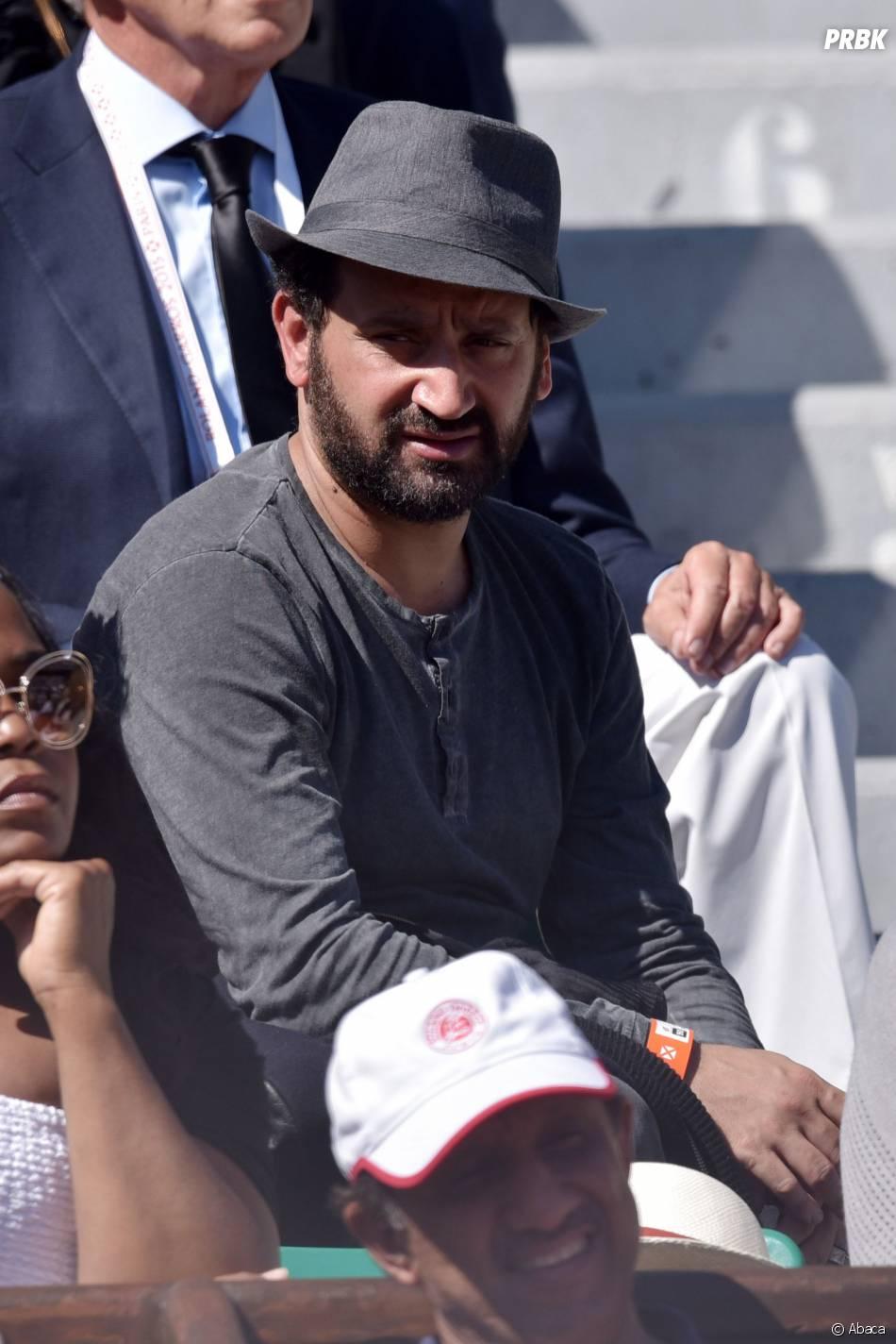 Cyril Hanouna assiste à la finale dames de Roland Garros 2015 le 6 juin