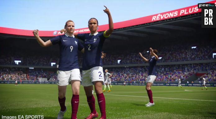 Wendie Renard, Laure Boulleau découvrez les bleues dans FIFA 16 avant le  match face à la Colombie , Purebreak