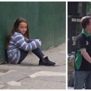 Expérience sociale : une mère oublie sa fille dans la rue, qui va l'aider ?