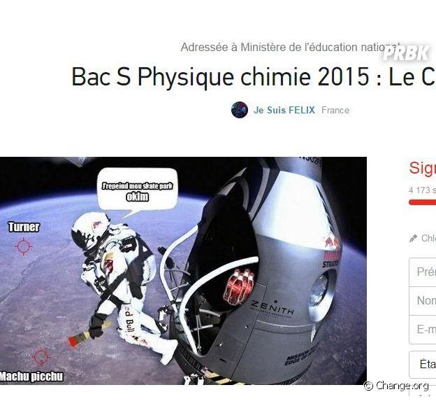 Bac 2015 : des candidats de filière S lancent une pétition pour faire annuler l'épreuve de Physique-Chimie