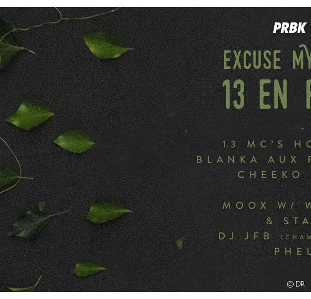 Excuse My French : Moox, Wilaxxx, JFB, Gael Faye, Yoshi... à la Bellevilloise le vendredi 3 juillet