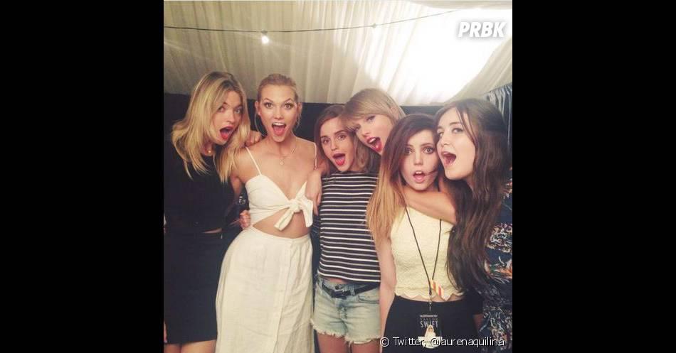Taylor Swift passe la soirée avec Emma Watson