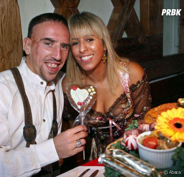 Franck Ribéry et sa femme Wahiba parents pour la quatrième fois