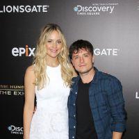 Jennifer Lawrence et Josh Hutcherson réunis pour l'exposition Hunger Hames à New York