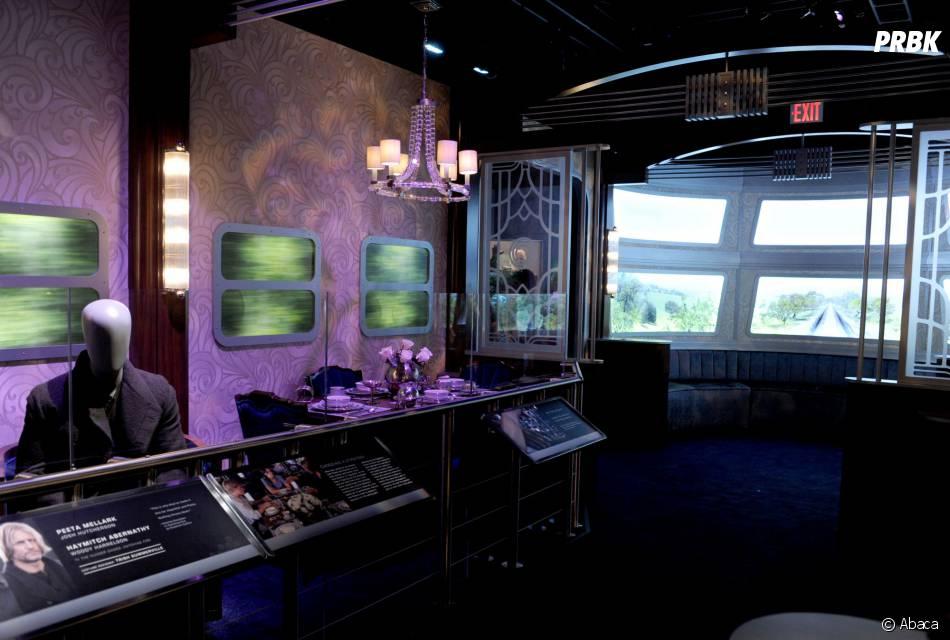 Hunger Games : le train recréé à l'exposition à New York