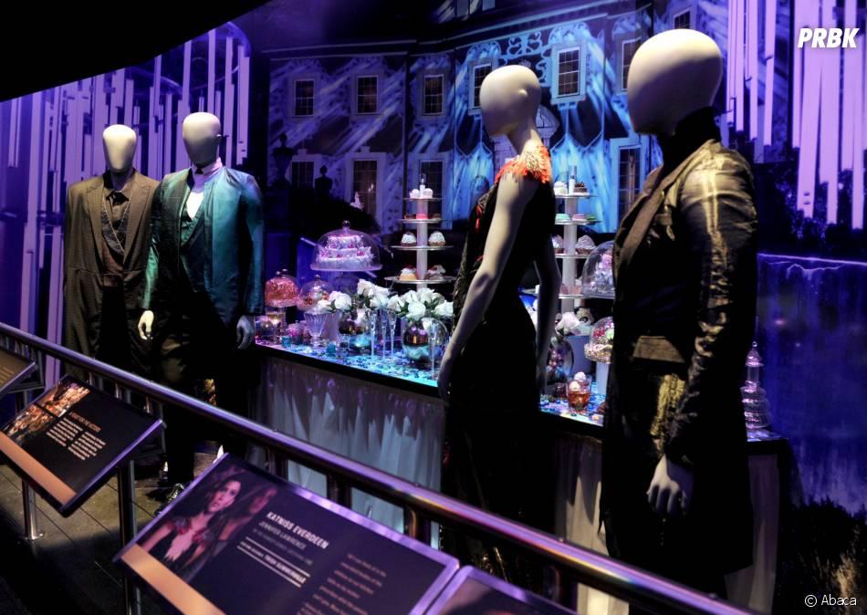 Hunger Games : les costumes de la soirée des vainqueurs dans le second volet à l'exposition à New York