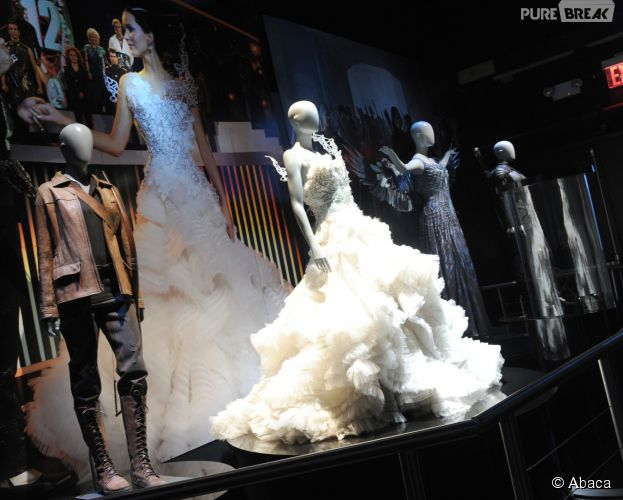 Hunger Games : la robe de mariée de Katniss à l'exposition à New York