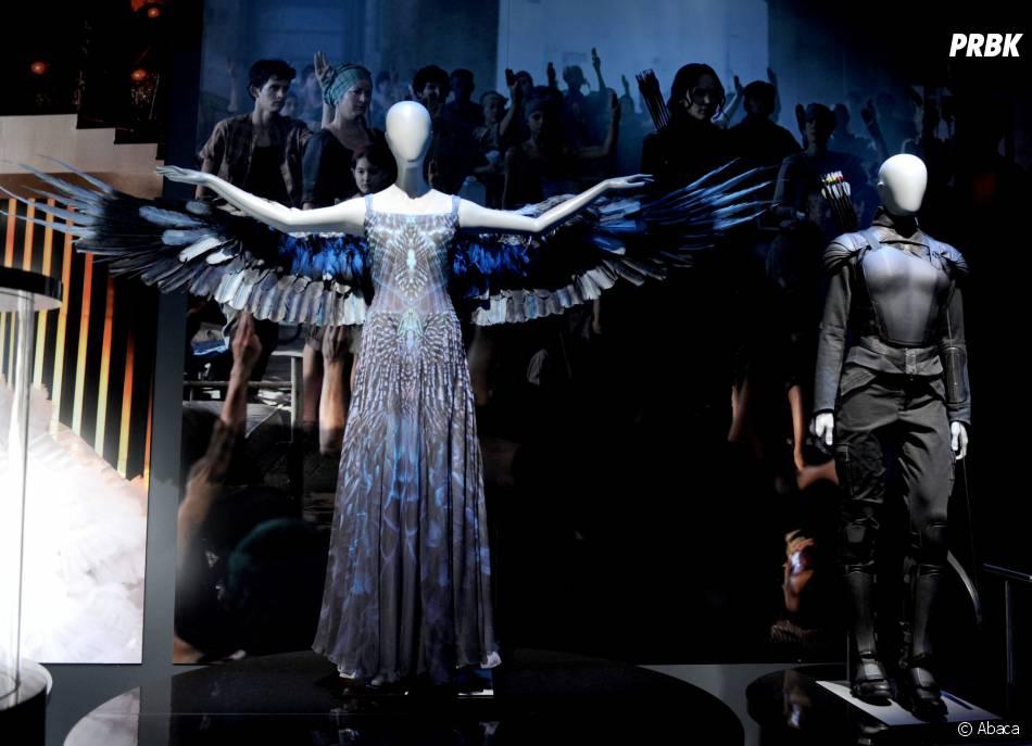 Hunger Games : le costume du geai moqueur à l'exposition à New York